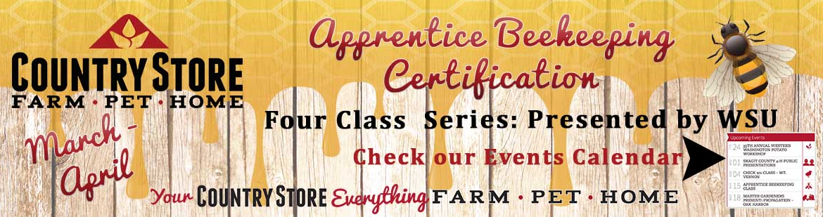 Beekeeping Certification Classes - Country Store - Farm
